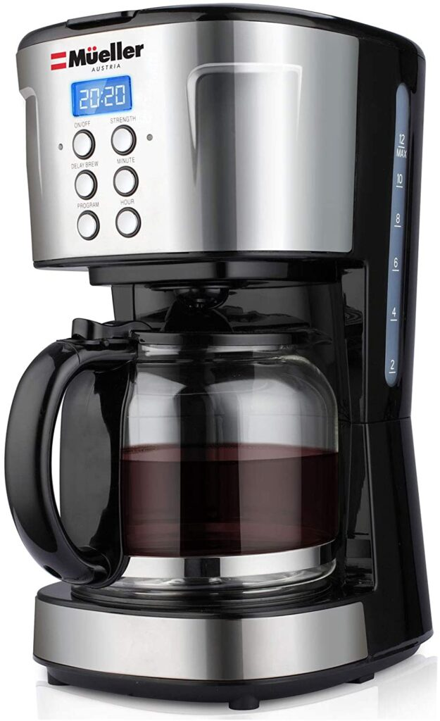 Muller ultra 12 cup Programmable coffee maker