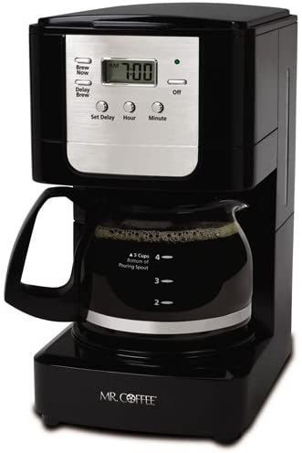 Mr. Coffee Advanced Brew 5 Cup coffee maker with auto shut off