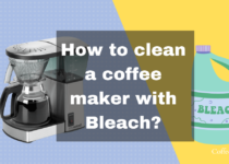 How to clean a coffee maker with Bleach-min