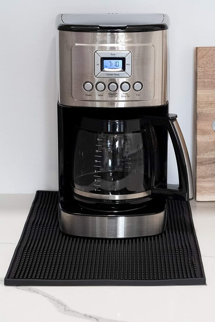 rubber mat for coffee maker