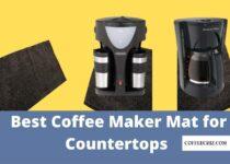 coffee maker mat for countertops
