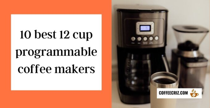 10 best 12 cup programmable coffee makers