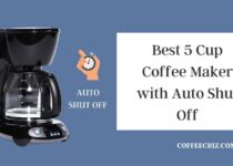 5 cup coffee maker with auto shut off
